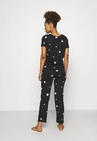 Marks & Spencer London - STAR - Pyjamas - black mix - 2