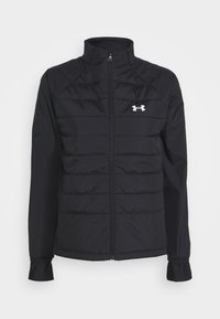 Under Armour - RUN INSULATE HYBRID - Training jacket - black - 0