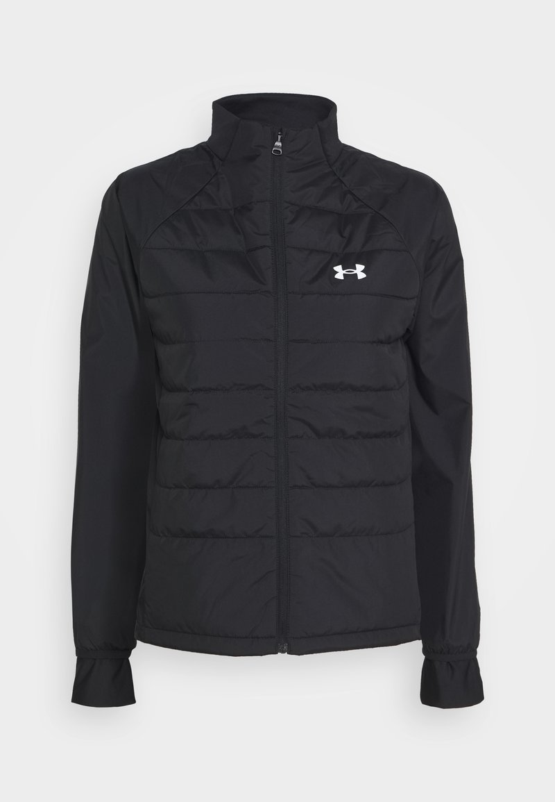 Under Armour - RUN INSULATE HYBRID - Training jacket - black