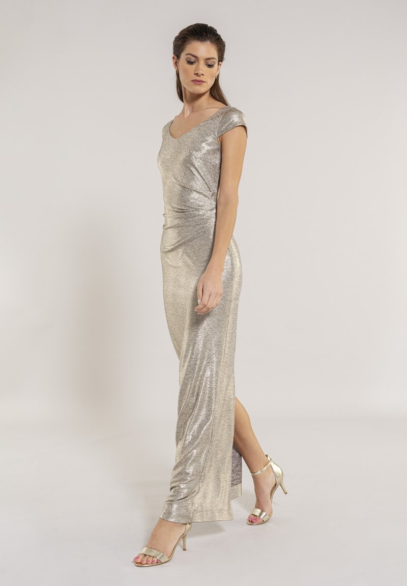 Swing - Maxi dress - gold
