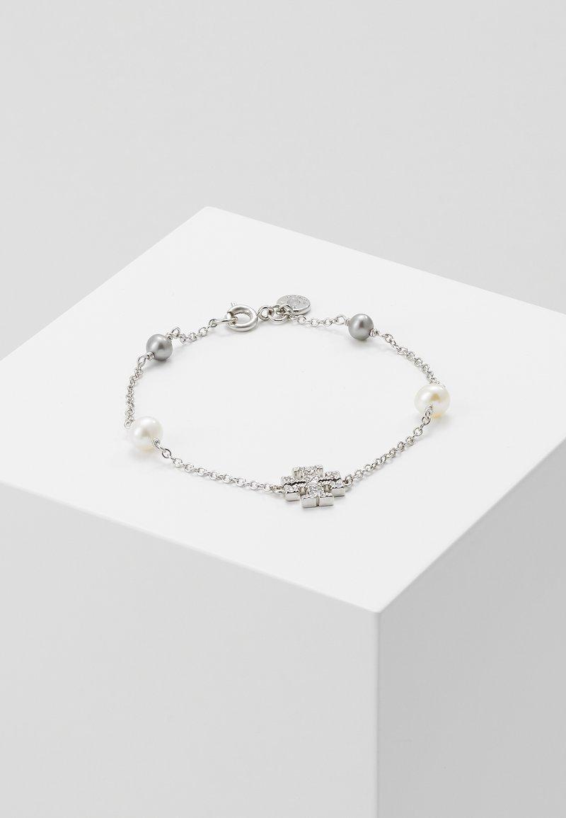 Tory Burch - KIRA PAVE DELICATE BRACELET - Náramek - silver-coloured