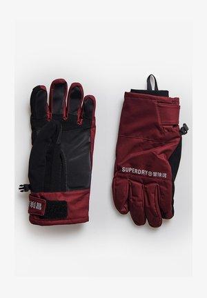 Gloves - claret