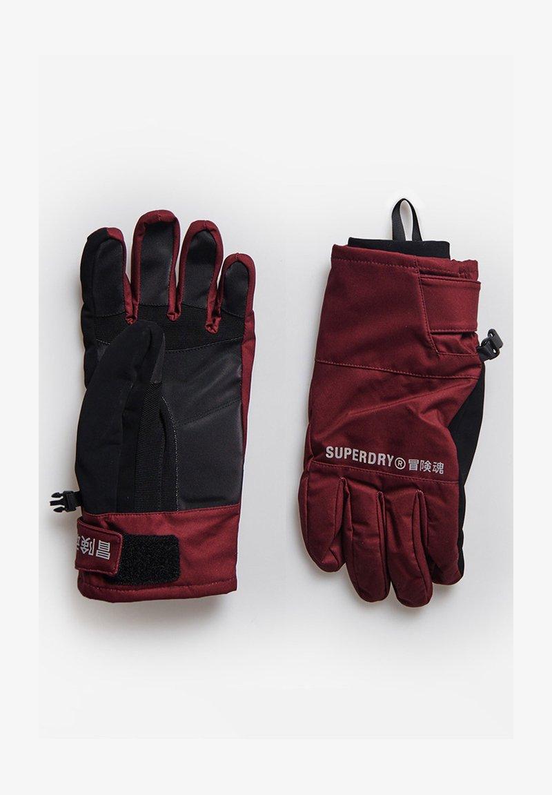 Superdry - Gloves - claret
