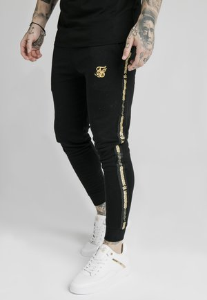 Tracksuit bottoms - black  gold