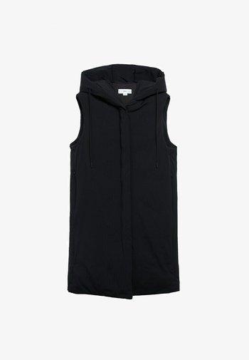 WATERAFSTOTENDE BODY WARMER - Waistcoat - zwart