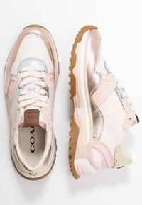 Coach - RUNNER METALLIC  - Sneaker low - rose gold/chalk - 3