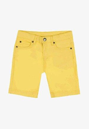 Denim shorts - amarillo
