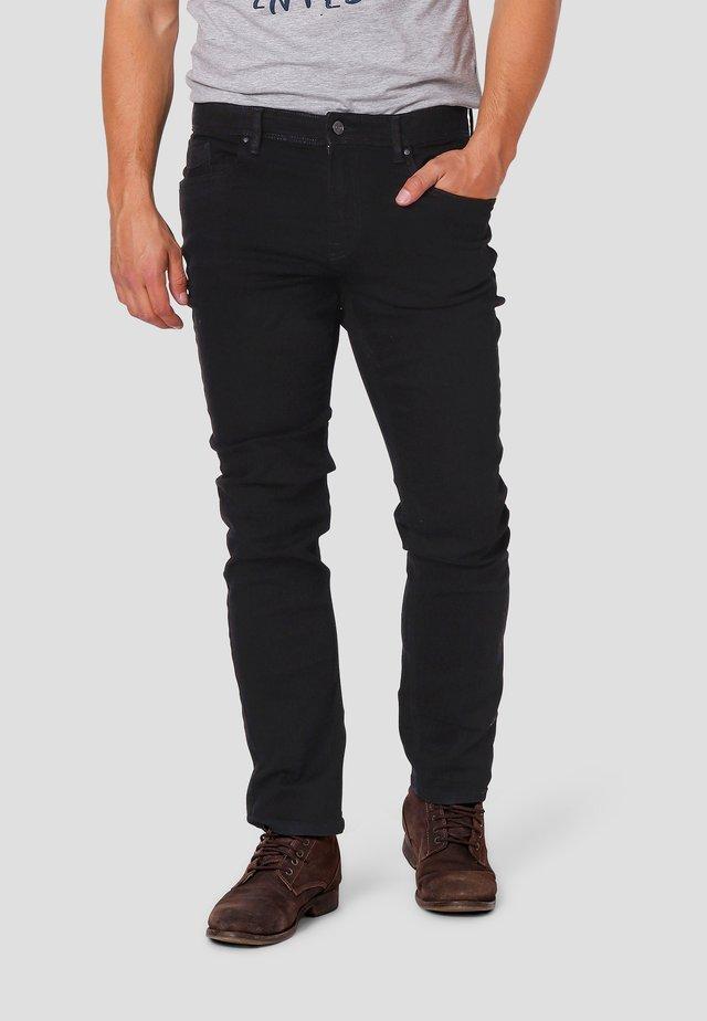 Jeans Straight Leg - black wash