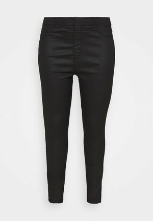 COATED - Leggings - Trousers - black