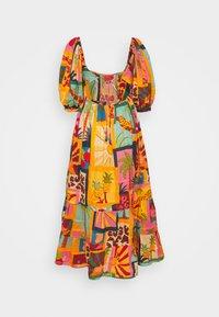 Farm Rio - COLLAGE MIDI DRESS - Day dress - tropical - 1