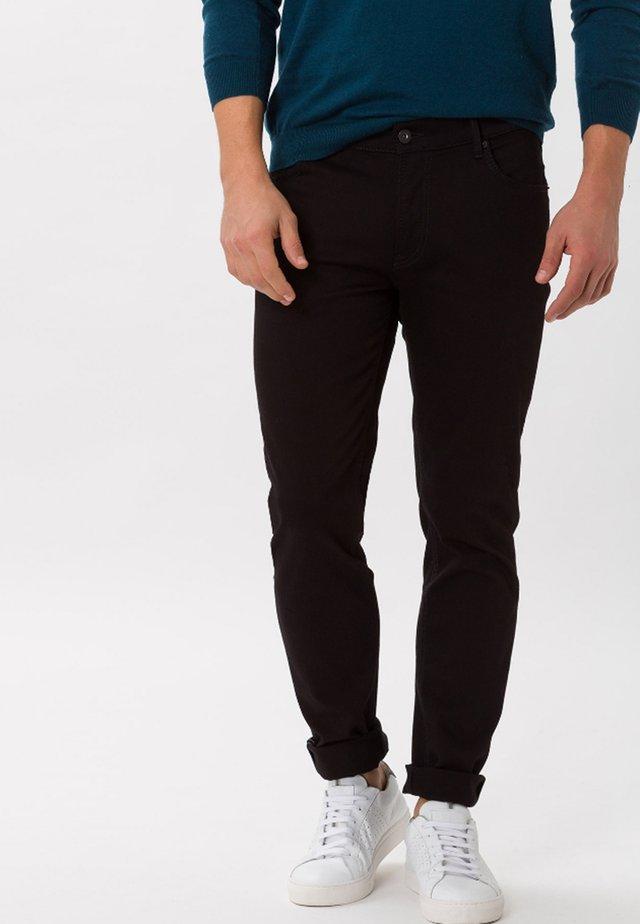 STYLE CHUCK - Jeans straight leg - schwarz