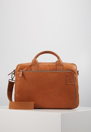 HYDE PARK BRIEFBAG - Briefcase - cognac