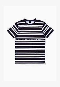 Society Sport - Print T-shirt - black/white - 0