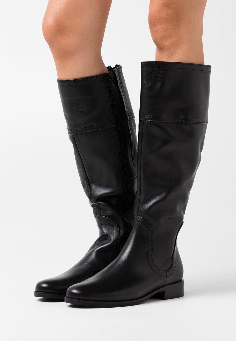Gabor Comfort - Vysoká obuv - schwarz