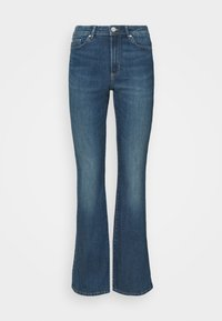 ONLY - ONLWAUW LIFE  - Flared Jeans - medium blue - 0