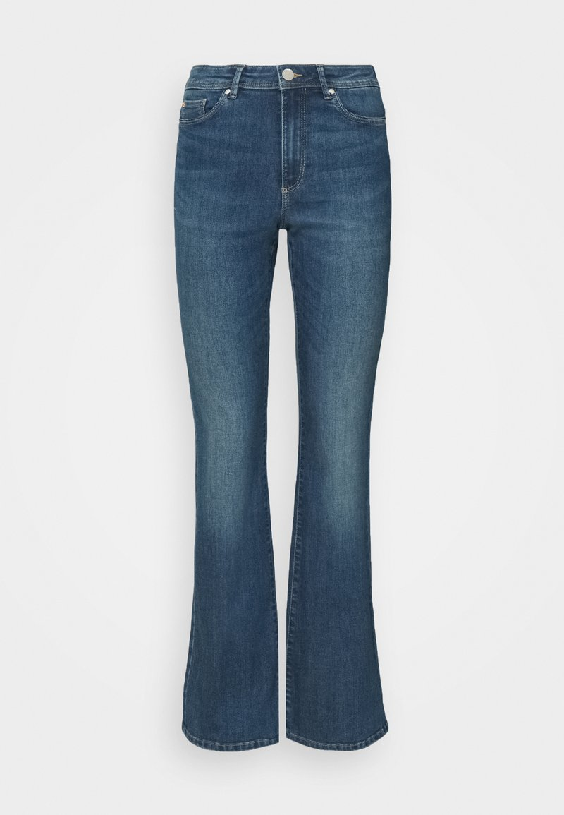 ONLY - ONLWAUW LIFE  - Flared Jeans - medium blue