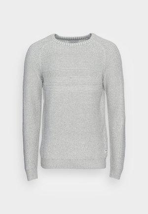 JCOPOWER CREW NECK - Svetr - light grey melange