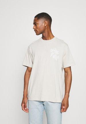 GRAPHIC  - Print T-shirt - moonstone