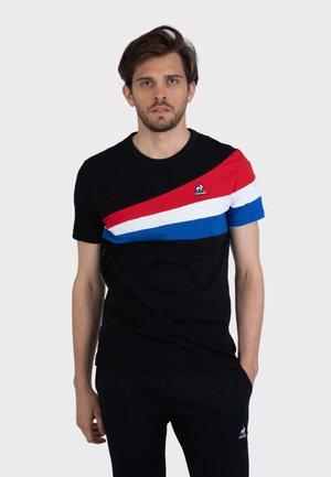 TRICOLORE - Camiseta estampada - black