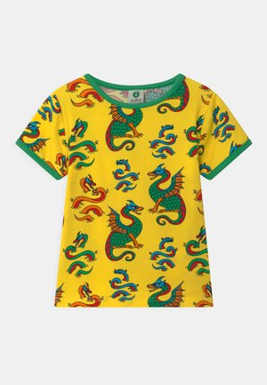 DRAGER - T-shirt print - yellow
