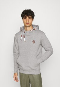 INDICODE JEANS - NEVILLY - Hoodie - light grey mix - 0