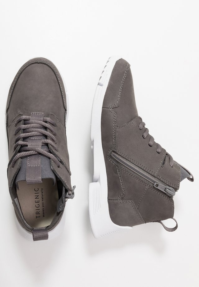 TRI VOYAGE - Zapatillas altas - dark grey