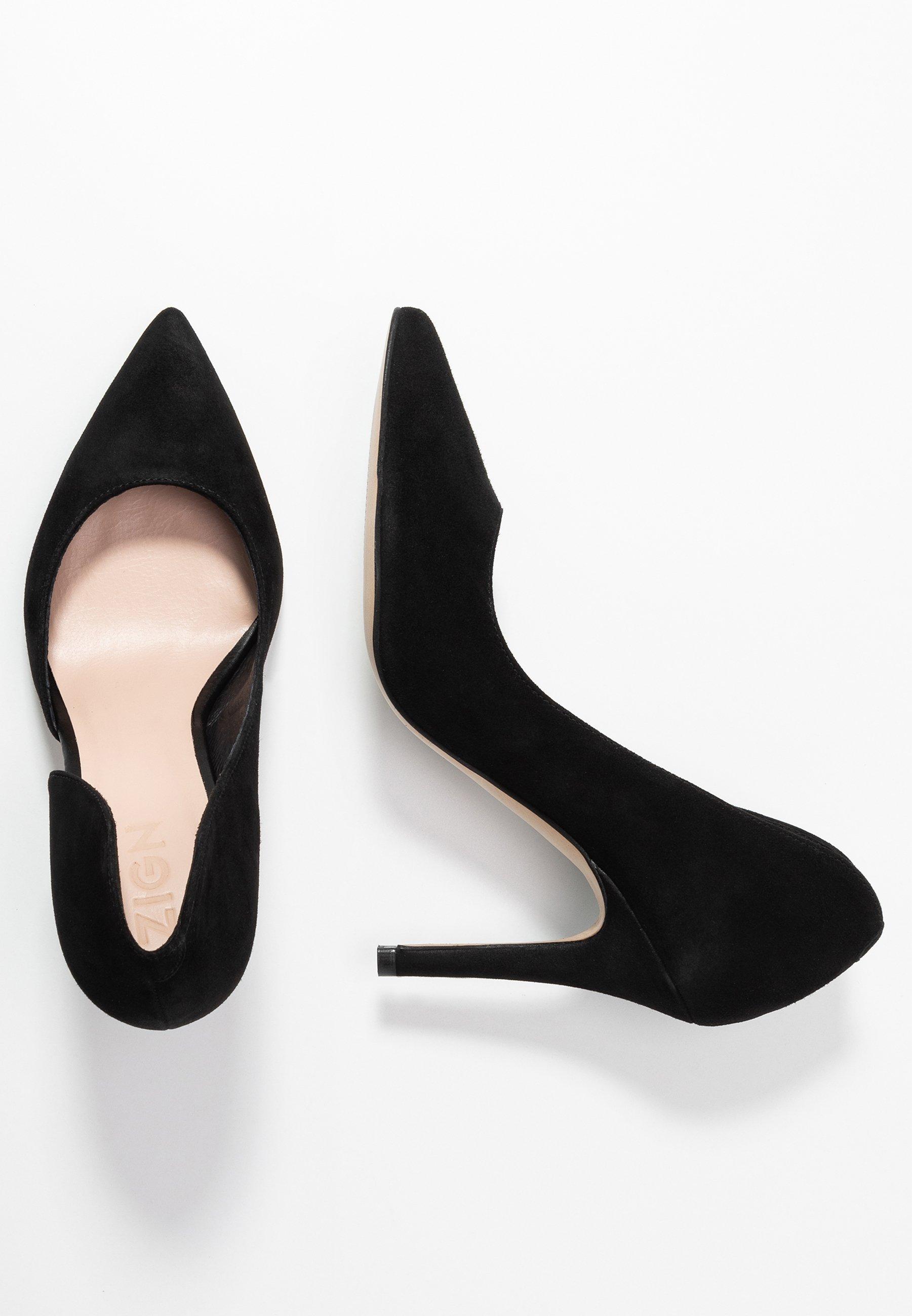 Zign High Heel Pumps - Black/schwarz