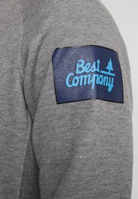Best Company - CREW NECK RAGLAN - Sweater - grey melange - 3