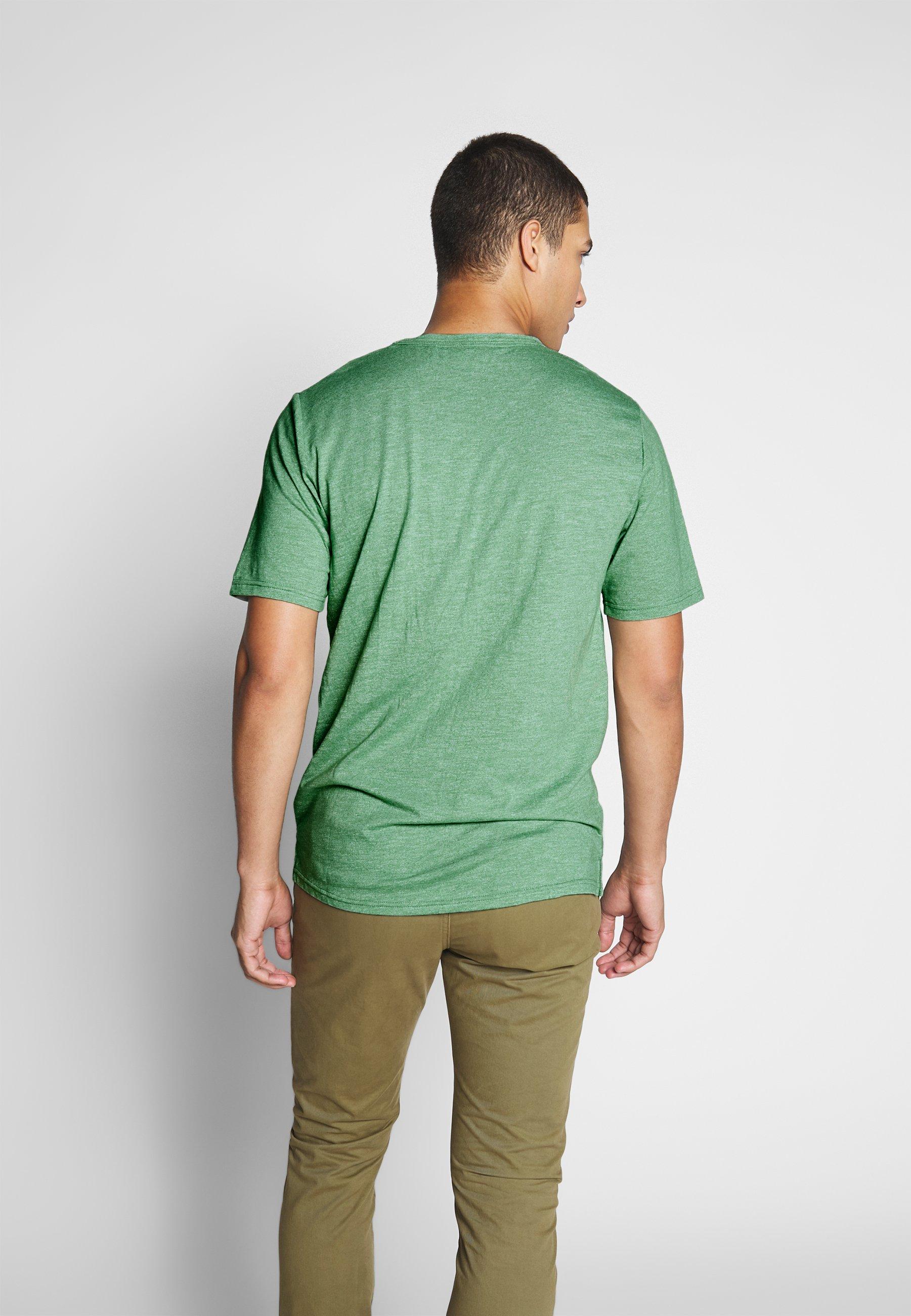 Minimum DELTA - Basic T-shirt - sea spray melange 6gH0B