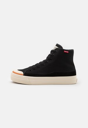 SQUARE  - High-top trainers - regular black