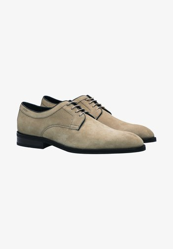 VELLUTO KLEITOS LACE UP - Lace-ups - cappuccino