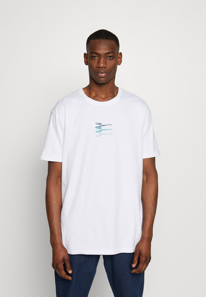Zign - Printtipaita - white