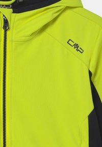 CMP - FIX HOOD UNISEX - Soft shell jacket - limone - 2