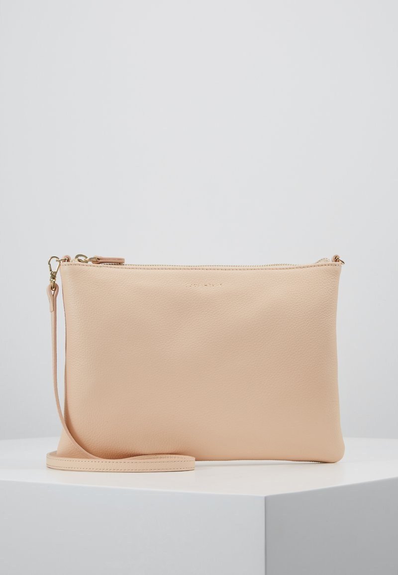 Coccinelle - BEST CROSSBODY SOFT - Clutch - nude