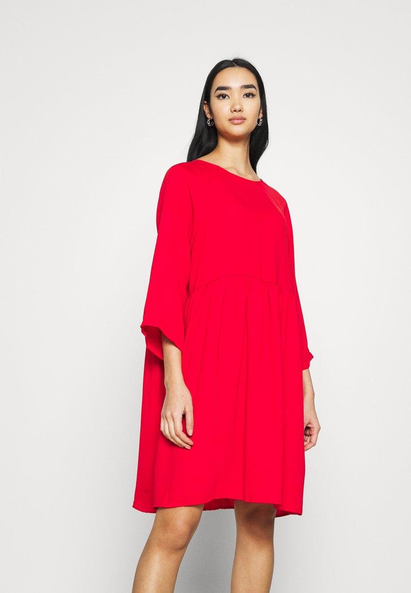 Monki - OLIVIA DRESS - Day dress - red