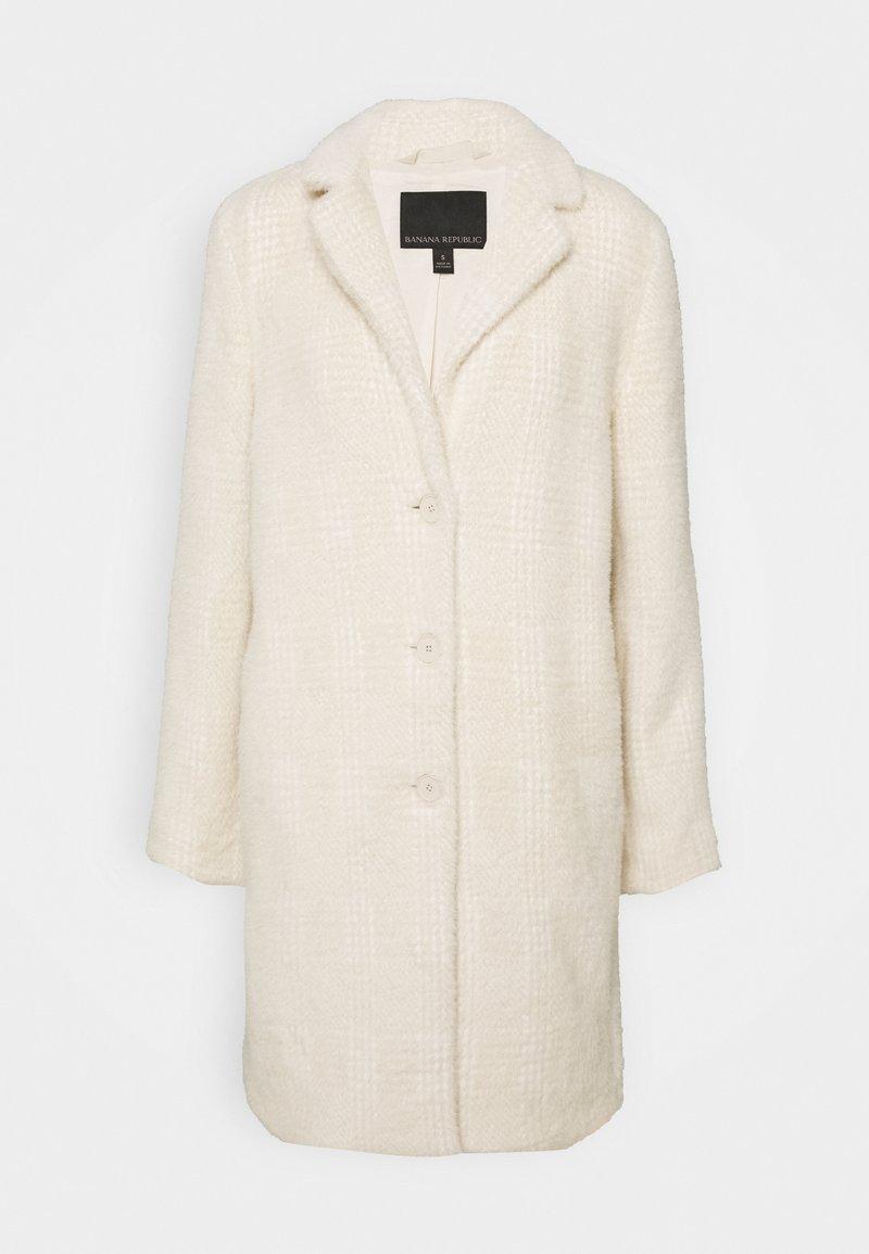 Banana Republic - PLAID LASH WEEKENDER COAT - Classic coat - almond amaretto