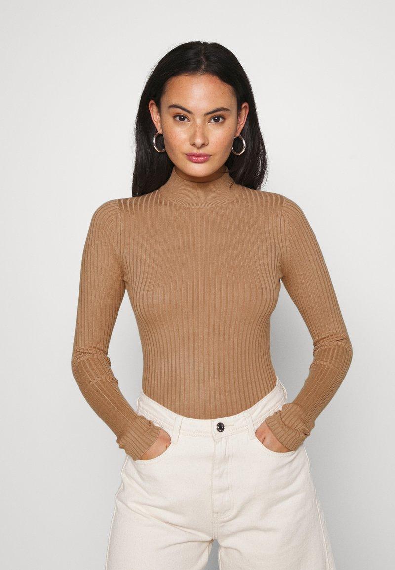 Even&Odd - Pullover - camel