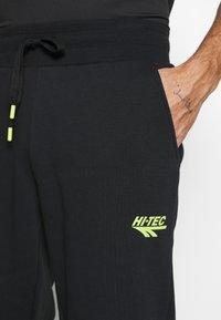 Hi-Tec - ARCHIE BASIC JOGGER - Pantaloni sportivi - black - 4