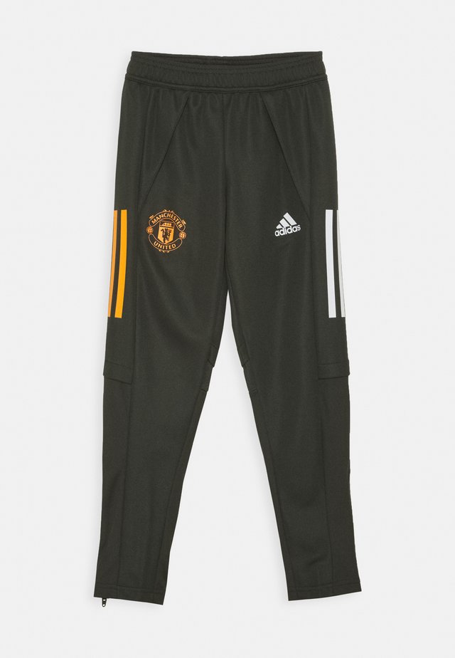 MANCHESTER UNITED AEROREADY FOOTBALL PANTS - Article de supporter - olive