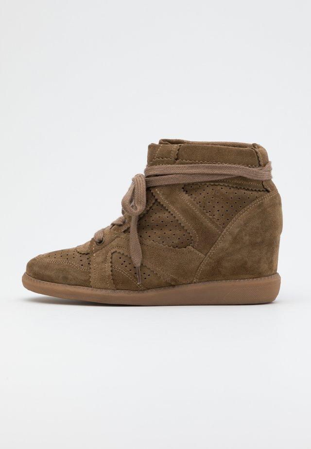 VIBE - Boots à talons - khaki
