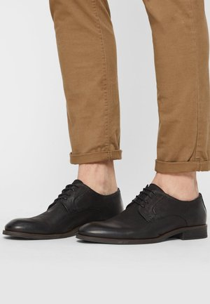 DERBY - Zapatos con cordones - black