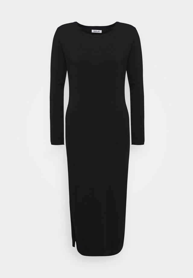 DRESSES - Jumper dress - black