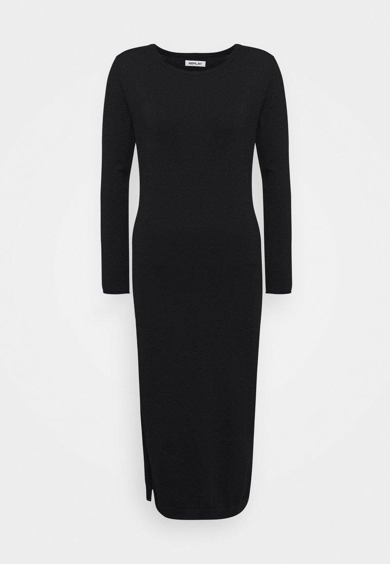 Replay - DRESSES - Jumper dress - black