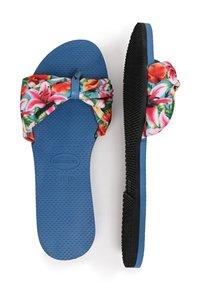 Havaianas - TROPEZ - T-bar sandals - blue - 2