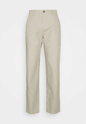 ALPHA ICON TAPERED - Pantalones chinos - elm moonstruck