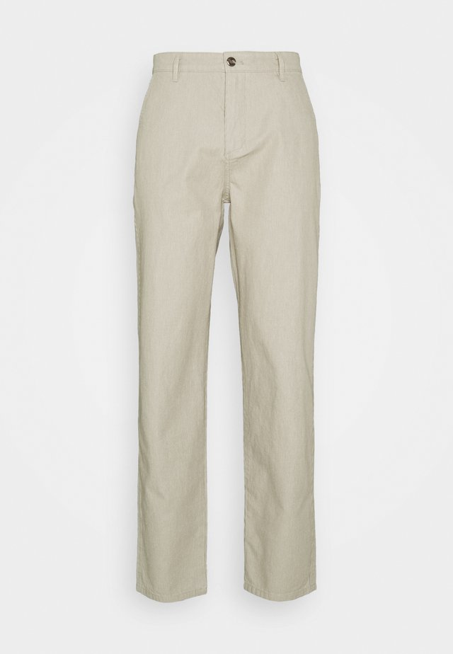 ALPHA ICON TAPERED - Chino kalhoty - elm moonstruck