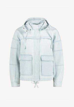 Džínová bunda - bleached denim