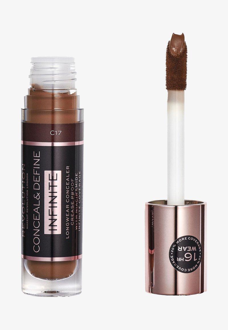 Make up Revolution - INFINITE XL CONCEALER - Concealer - c17