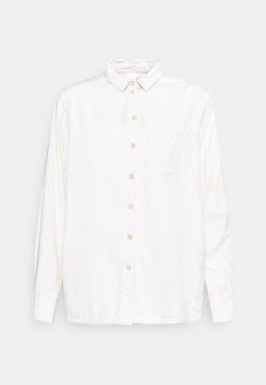 KATE - Button-down blouse - cannoli cream