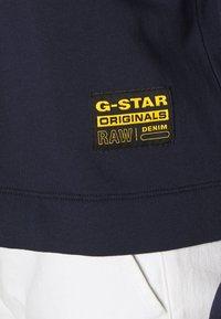 G-Star - VENARUX XZYPH V R SW WMN L\S - Mikina - sartho blue - 4